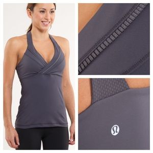 Lululemon Deep Breath Tank *Luxtreme Coal
