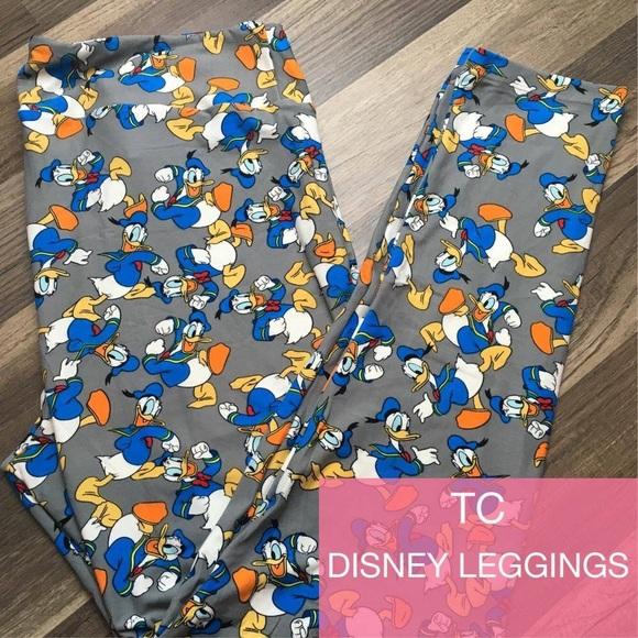 8d4a85322086f3 Lularoe TC Donald Duck leggings. M_5972ab318f0fc42212009fc9