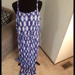 Spaghetti strap maxi dress.  NWOT