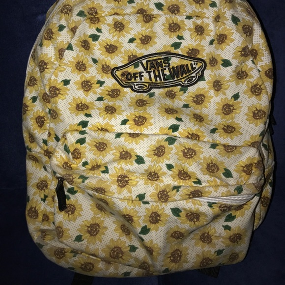 vans sunflower bag