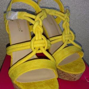 Lolita Cork Wedge Sandal