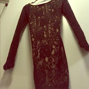 *UNAVAILABLE* A'Gaci Mesh Evening Dress (Small)