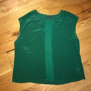 Broadway and Broome silk top