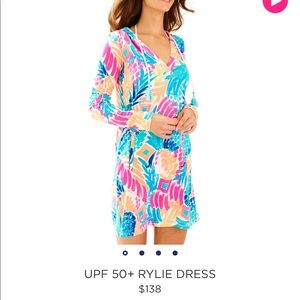 NWT RYLIE DRESS IN GOOMBAY SMASHED XS
