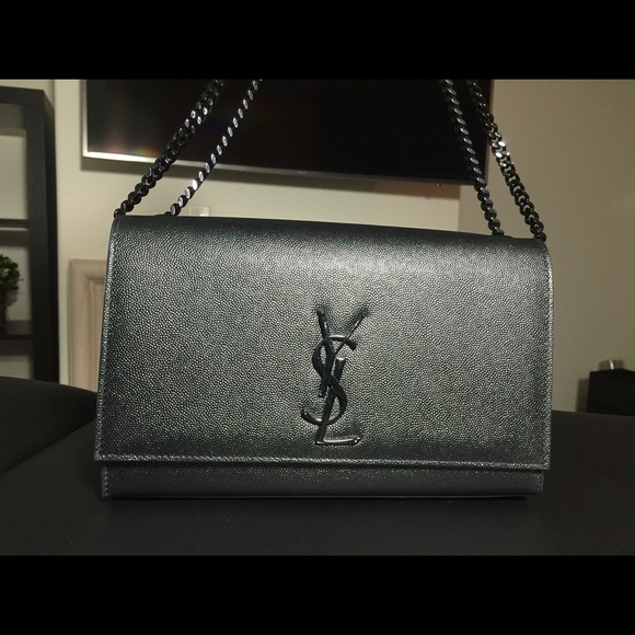 fa4343f6d1c3 M 5972b8f3f09282ba0f00f93d. Other Bags you may like. Yves Saint Laurent  Weave Leather Trim