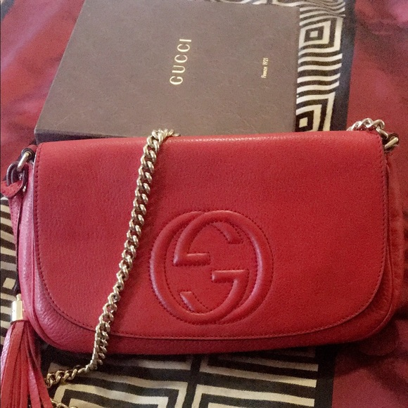 1d56dc5410d2 Gucci Handbags - Authentic Gucci soho crossbody bag!