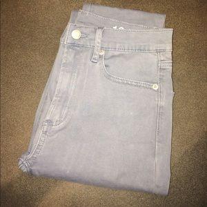 Super soft, High Waisted blue gray skinny pants