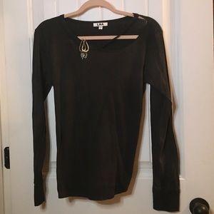 NEW LNA Long Sleeve Carbon Black
