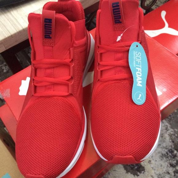 Puma Men's Memory Foam High Top Enzo Sneaker NWT