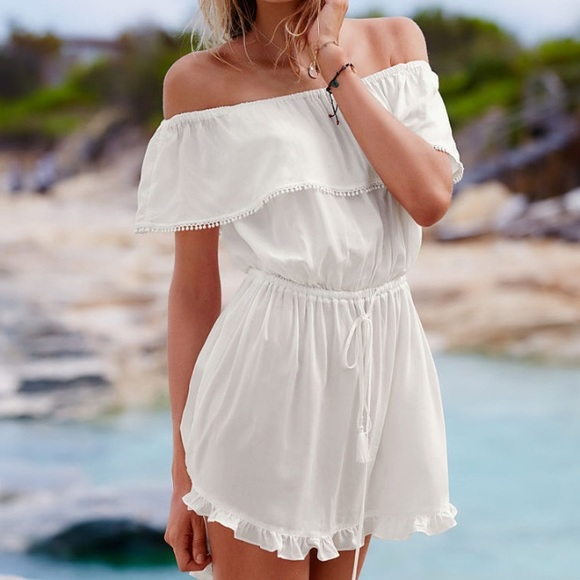 45263751af0 Victoria's Secret Dresses | Victoria Secret Cover Up Swim Beach ...