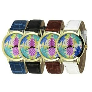 Accessories - Last white pineapple watch