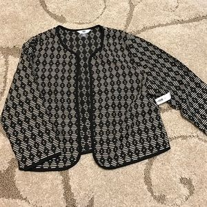 NWT Old Navy Black Patterned Blazer
