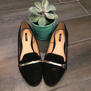 F21 pointed toe flats