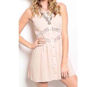 Dresses & Skirts - Dusty Pink Babydoll Dress