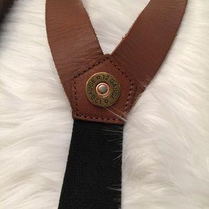 Nocona Western Mens Suspenders Galluse Shotgun Shell Brown N8514202