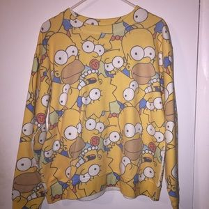 cute limited edition simpson sweater