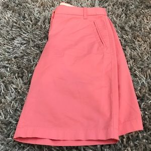 J. Crew Shorts Stretch Long Pink Coral Women's 2