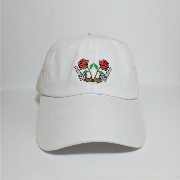 c93f4b4615 Guns n Roses Embroidered Polo Dad Hat