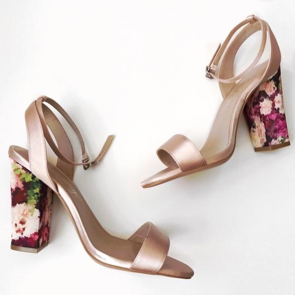 bee48719af5 Shoes of Prey Blush Block Heel Sandals