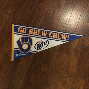 Other - MLB Milwaukee Brewers Banner
