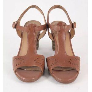 9241678eb Clarks Shoes - Clarks Women s Ciera Glass T Strap Sandal brown