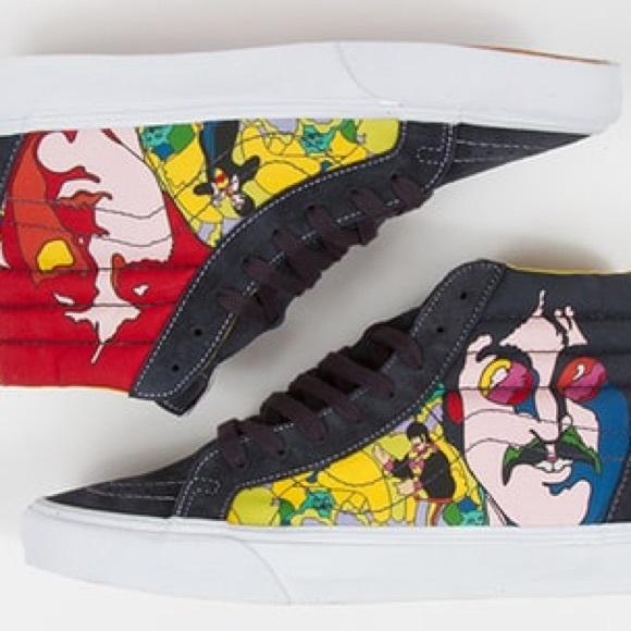 Like Beatles SaleThe Vans New Sk8 Hi Skate Shoes 80XwOPkNn