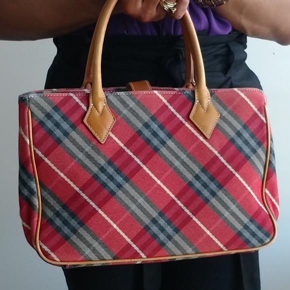 81206f7c88b1 Burberry Handbags - Sale Authentic Vintage Red Burberry Handbag Purse