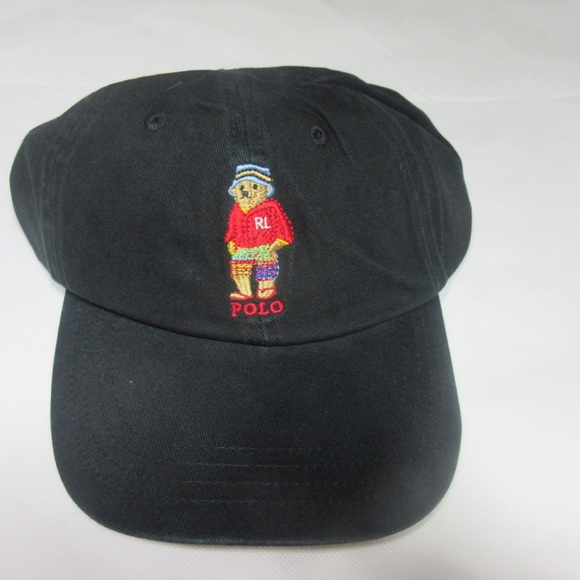 Hat New Bear Without Tags Ralph Lauren Polo Bucket 1KuTcJlF3
