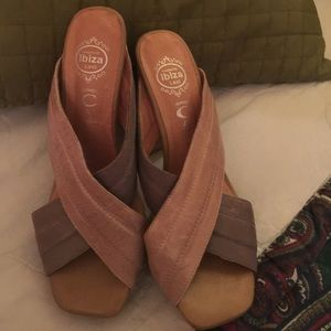 Jeffery Campell Leather Mules