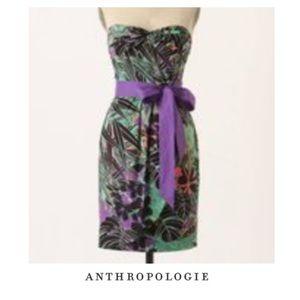 Anthropologie Edme & Esyllte Phosphorescent Dress