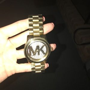 Accessories - Michael kors gold watch