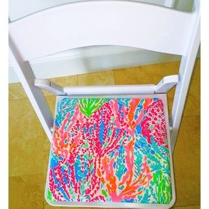 Lilly Pulitzer Let's Cha Cha Foldable Stool