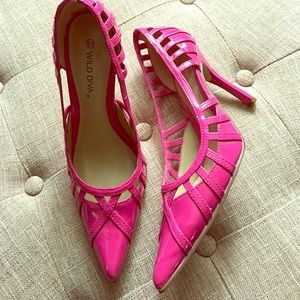Shoes - Pink size 6.5 Wild Diva Shoes