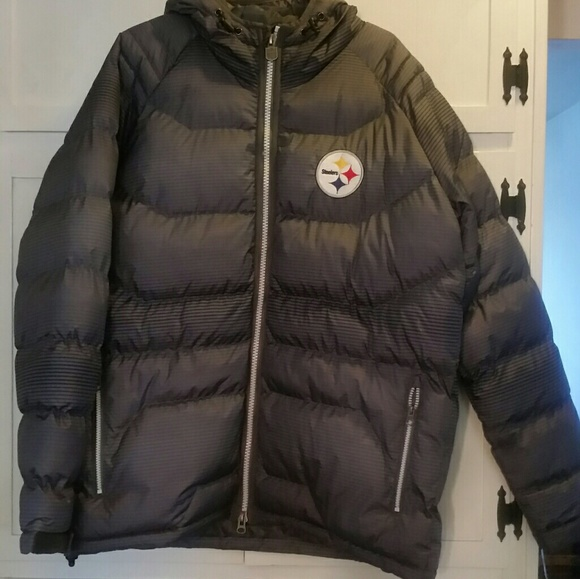 sneakers for cheap 2fead 5089e Mens NFL Pittsburgh Steelers winter coat