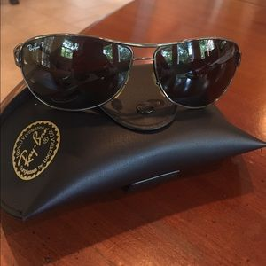 Authentic Ray-Ban Warrior Aviator Sunglasses