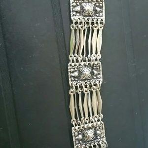 Vintage Mexico sterling silver jewelry bracelet