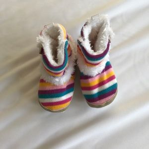 Other - Baby Boots in a darling rainbow pattern! New!