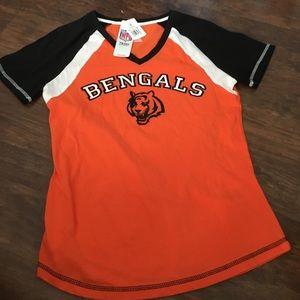 Cincinnati bengals shirt. NWT