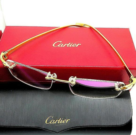 3f19615cc73ce Cartier Accessories - Cartier Unisex 18k Gold Frame Glasses