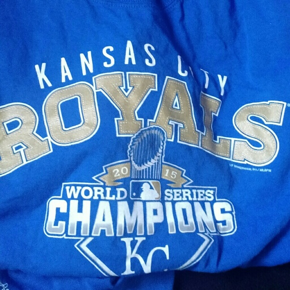 online retailer c08f9 fc31b Kansas City Royals World Series Champions T-Shirt
