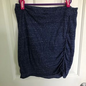 Blue free people skirt