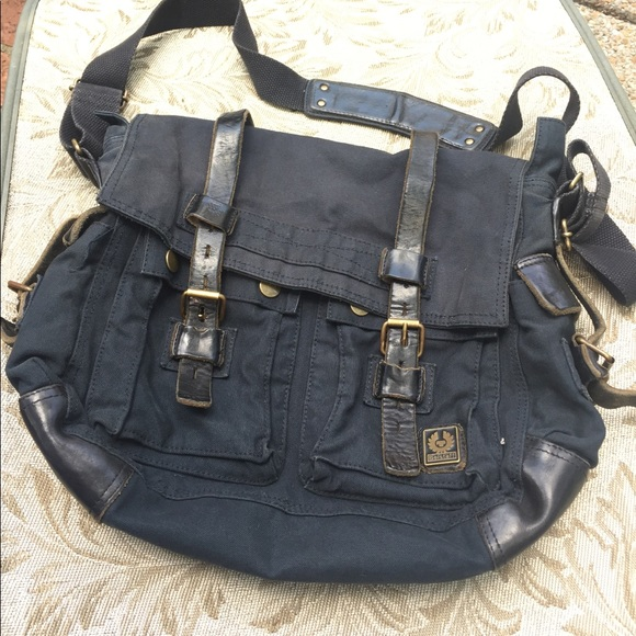 c71ac2e8d0 Belstaff Bags | Authentic Black Colonial 554 Bag | Poshmark
