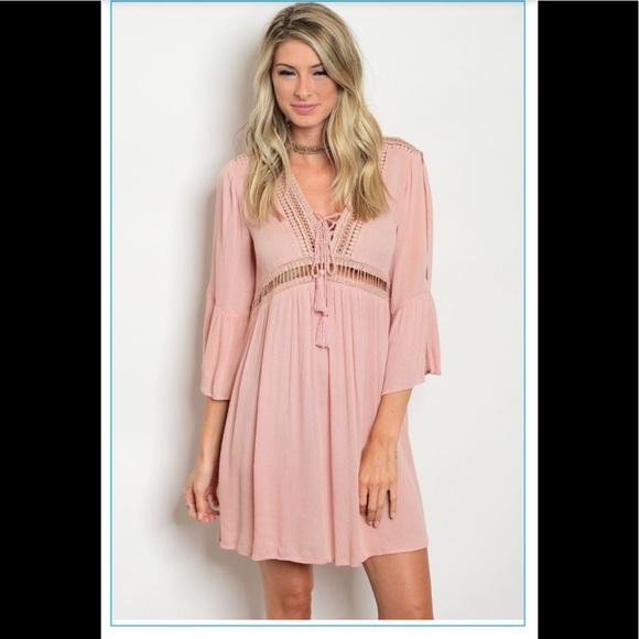 the clothing co Dresses & Skirts - Blush mini dress