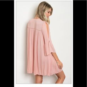 the clothing co Dresses - Blush mini dress