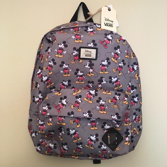 d15aefdb6c7 Disney Vans Backpack Mickey Mouse ✨