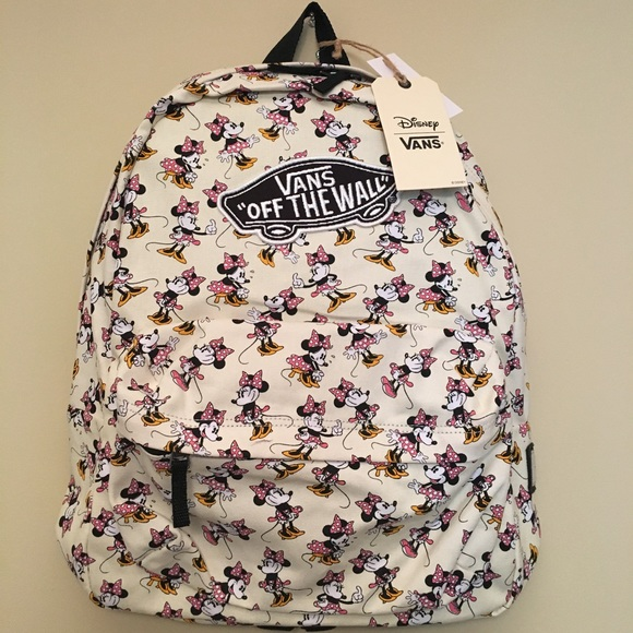 1b95de09800 Disney Vans Minnie Mouse Backpack