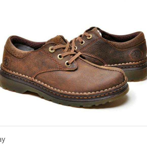 24d61a1ea5 Dr. Martens Shoes | Guc Dr Martens Nevin Brown Leather | Poshmark