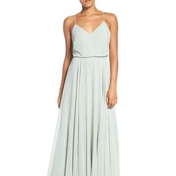 c9e9d33b82f3 Jenny Yoo Dresses & Skirts - Jenny Yoo Inesse in Morning Mist (Green/blue