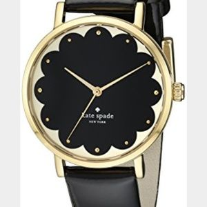 Mint condition Kate Spade ♠️ Black metro watch