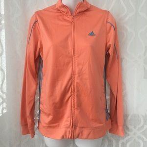 Adidas Orange Track Jacket